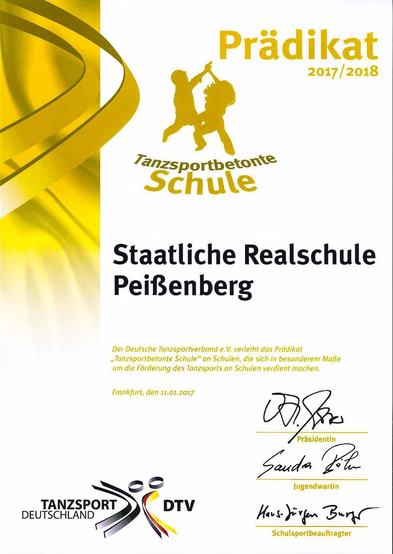 Staatliche Realschule Peißenberg - RSP wird \
